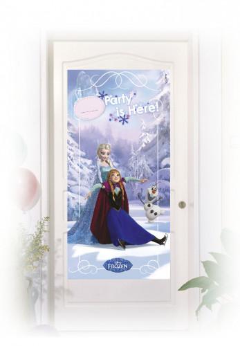 Décoration de porte Elsa et Anna La Reine des Neiges™