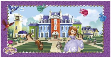 Décoration murale Princesse Sofia™ 150 x 77 cm