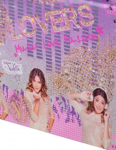 Nappe en plastique Violetta™ 120 x 180 cm-1