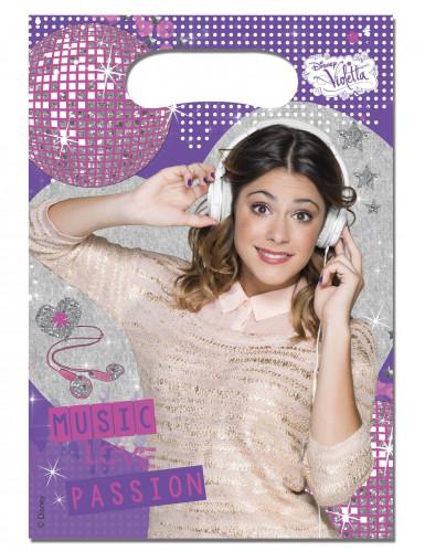 6 Sacs cadeaux Violetta™