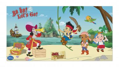 Décoration murale Jake et les Pirates™ 150 x 77 cm