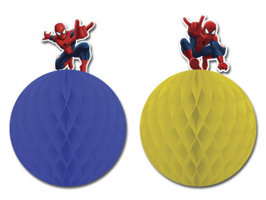 2 Décorations à suspendre Spiderman ™