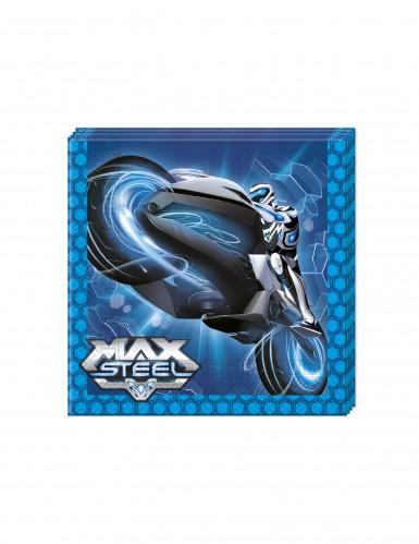 20 Serviettes en papier Max Steel ™ 33 x 33 cm