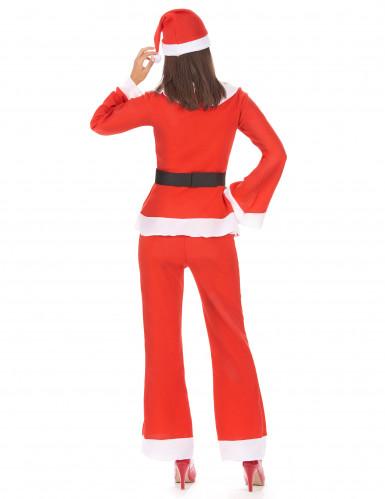 Déguisement Mère Noël adulte pantalon-2