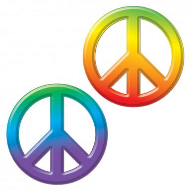 Décoration plastique Peace