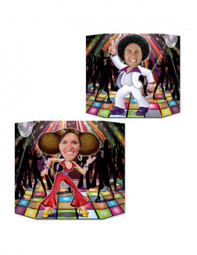 Passe tête couple Disco