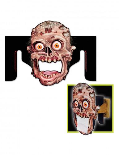 Distributeur de papier toilette Zombie Halloween