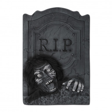 Pierre tombale Zombie Halloween  35 x 53 cm