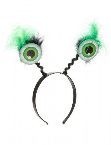 Serre tête globes oculaires verts