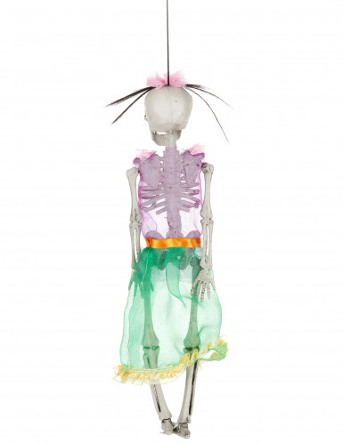 Décoration squelette Femme Dia de los Muertos 40 cm-1