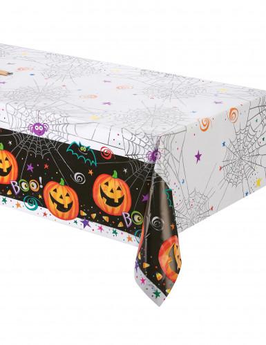 Nappe plastique Petite Citrouille Halloween 137 x 214 cm