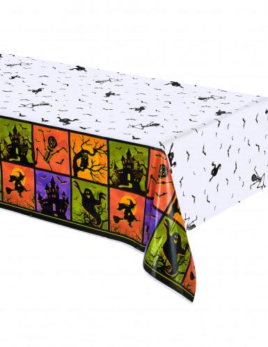 Nappe en plastique Nuit d'Halloween 137 x 214  cm