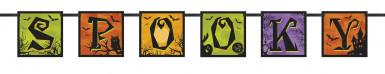 Bannière Spooky Halloween