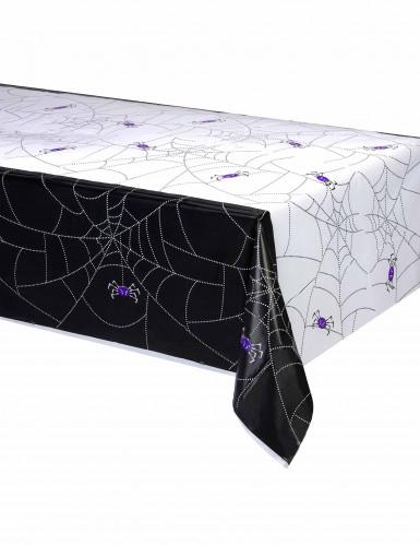 Nappe plastique Toile D'araignée Halloween 137 x 214 cm