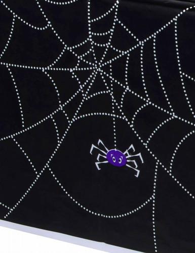 Nappe plastique Toile D'araignée Halloween 137 x 214 cm-1