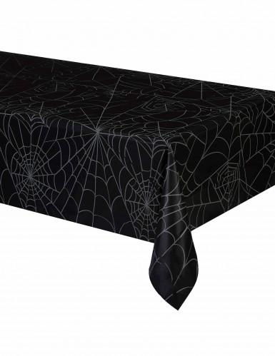 Nappe en plastique Toile d'araignée Halloween 137 x 213 cm