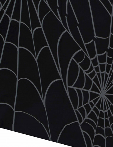 Nappe en plastique Toile d'araignée Halloween 137 x 213 cm-1
