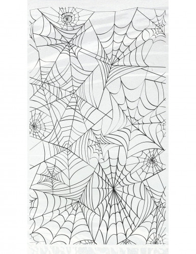 20 Sachets cadeaux en plastique Toiles d'araignées Halloween