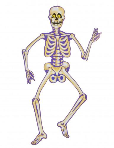 Squelette de décoration à suspendre Halloween
