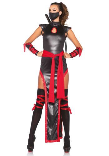 Déguisement ninja femme