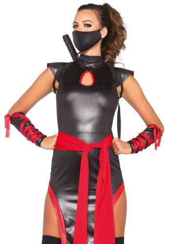 Déguisement ninja femme-1