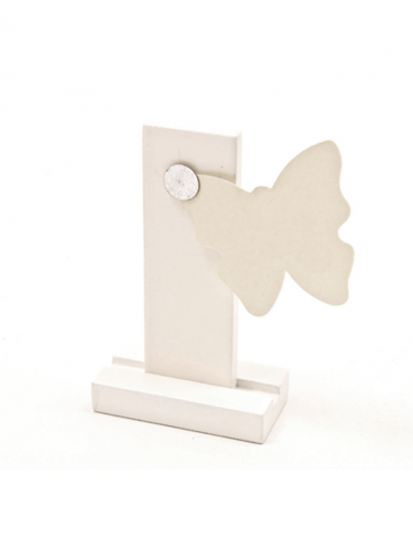 Porte-carte magnétique blanc