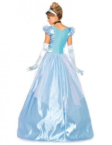 Déguisement princesse robe bleue femme-2