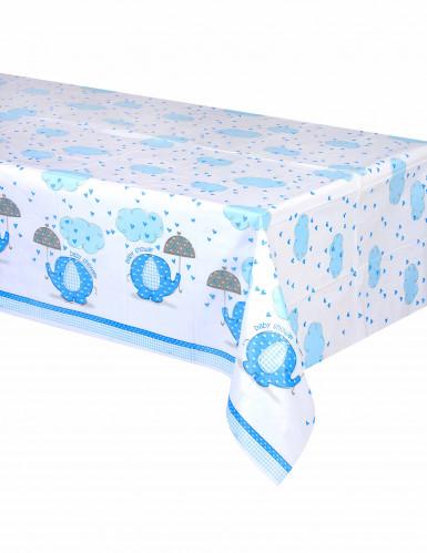 Nappe plastique Elephant Bleu 137 x 214 cm