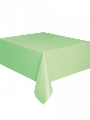 Nappe plastique Vert pomme 137 x 274 cm