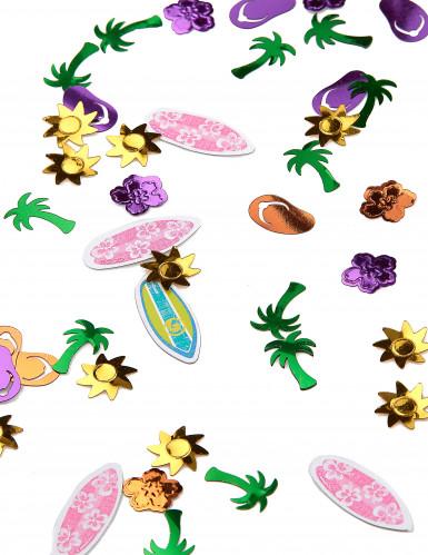 Confettis de table Hula Fête sur la plage 14 grammes