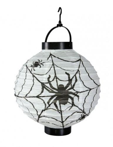 Lanterne lumineuse araignées 20 cm Halloween