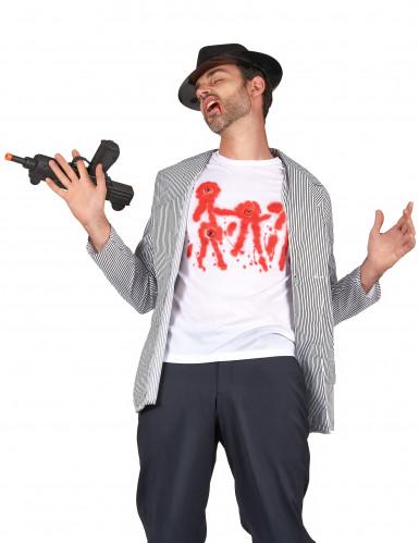 T-shirt impact de balles adulte