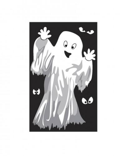 Décoration de fenêtre Fantômes ou Squelettes Halloween