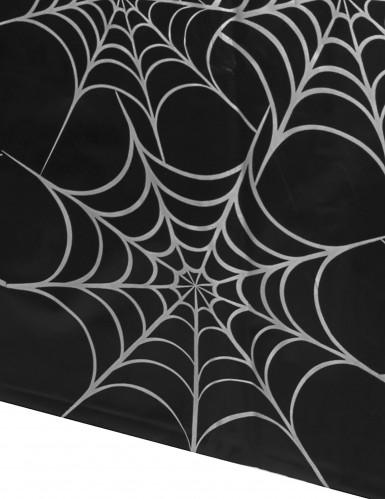 Nappe plastique Toiles d'araignées 135 X 270 cm-1