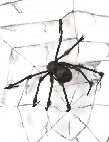 Toile d 39 araign e g ante avec araign e halloween for Toile d araignee decoration