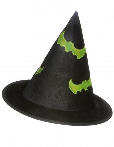Chapeau sorcière réfléchissant enfant Halloween