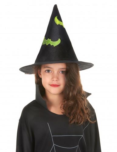 Chapeau sorcière réfléchissant enfant Halloween-1