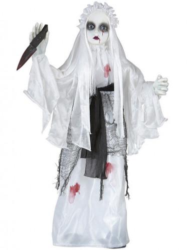 Décoration mariée animée et sonore 75 cm Halloween