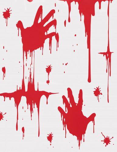 Nappe mains ensanglantées 270 x 135 cm Halloween-1
