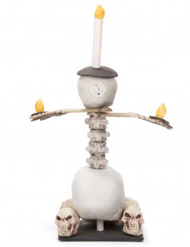 Chandelier lumineux têtes de mort 55 x 40 cm Halloween-2