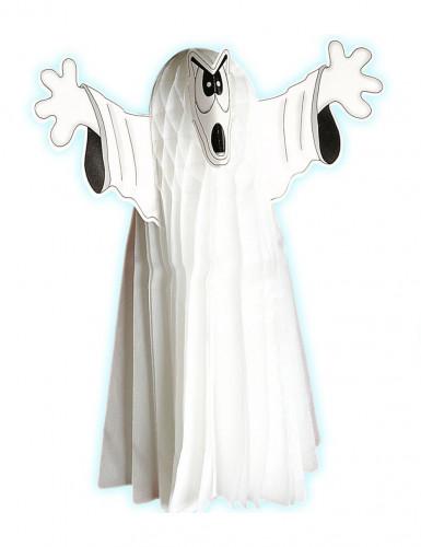 Fantôme en papier alvéolé 55 cm Halloween