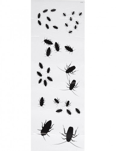 Stickers insectes 25 x 70 cm Halloween