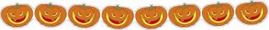 Guirlandes citrouilles moqueuses 3 m Halloween