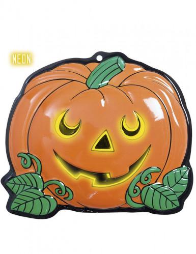 Décoration petite citrouille Halloween 25 x 22 cm