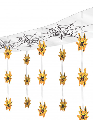 Décoration araignées suspendues Halloween