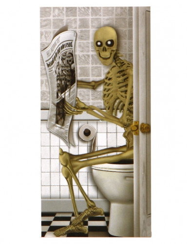 Poster squelette Halloween