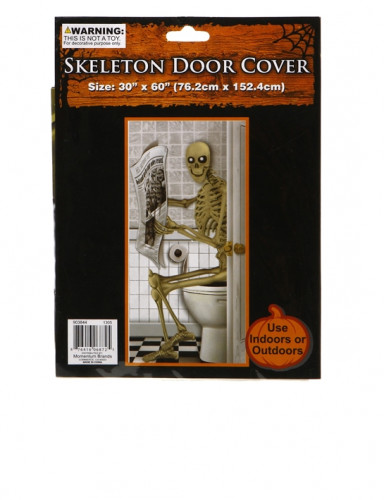 Poster squelette Halloween-1