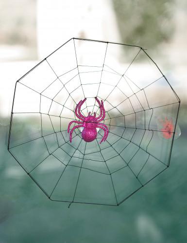 Toile d'araignée ventouse Halloween-1