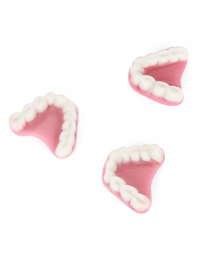 Sachet bonbons dentiers vampire Halloween 1 kg-1