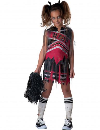 Déguisement Pom-Pom Girl Zombie pour fille - Premium